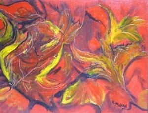 oil & wax on canvas board